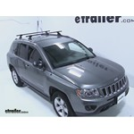 Video install thule podium loadbar 2012 jeep compass