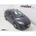 Thule Podium Roof Rack Installation - 2012 Mazda 5