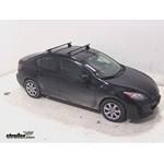 Thule Podium Roof Rack Installation - 2013 Mazda 3