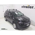 Thule Podium Roof Rack Installation - 2014 Jeep Compass