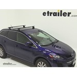 Thule Podium Roof Rack Installation - 2012 Mazda CX-7