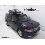 Thule Pulse Large Rooftop Cargo Box Review - 2010 Ford Flex