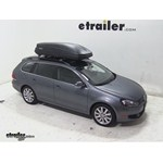 Thule Pulse Large Rooftop Cargo Box Review - 2011 Volkswagen Jetta SportWagen