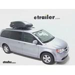 Thule Pulse Medium Rooftop Cargo Box Review - 2013 Dodge Grand Caravan