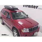 Thule Pulse Alpine Rooftop Cargo Box Review - 2005 Jeep Grand Cherokee