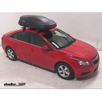Thule Pulse Medium Rooftop Cargo Box Review - 2014 Chevrolet Cruze