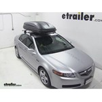 Thule Pulse Large Rooftop Cargo Box Review - 2006 Acura TL