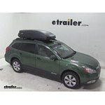 Thule Pulse Large Rooftop Cargo Box Review - 2011 Subaru Outback Wagon