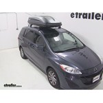 Thule Pulse Large Rooftop Cargo Box Review - 2012 Mazda 5