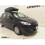 Thule Pulse Large Rooftop Cargo Box Review - 2013 Mazda 5