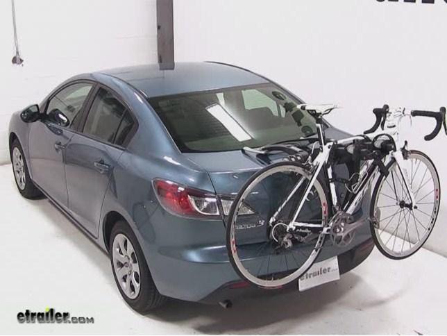 Mazda 3 Trunk Bike Rack