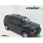 Thule AeroBlade Crossroad Roof Rack Installation - 2011 Jeep Patriot