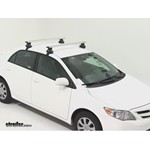 Thule AeroBlade Traverse Roof Rack Installation - 2011 Toyota Corolla