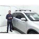 Thule Squarebar Crossbars Installation - 2015 Nissan Rogue