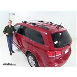 Thule AeroBlade Crossroad Roof Rack Installation - 2016 Dodge Journey