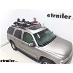 Thule Ski and Snowboard Carrier SnowPack Extender Review - 2002 Chevrolet Tahoe