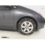 Thule Standard Snow Tire Chains Installation - 2007 Toyota Prius