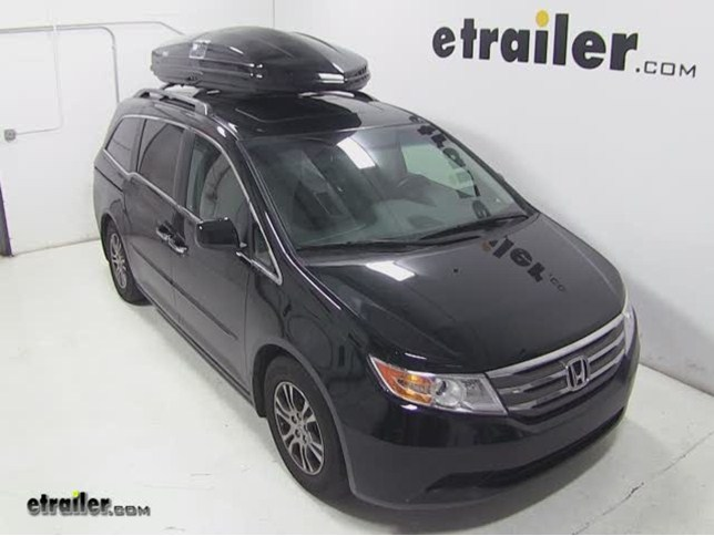 Thule Sonic Xxl Rooftop Cargo Box Review 2012 Honda Odyssey Video
