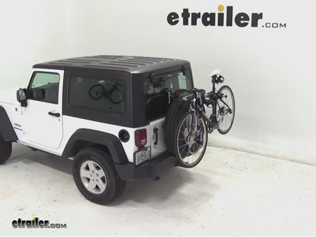 Thule Spare Me Tire Mount Bike Rack Review 2017 Jeep Wrangler