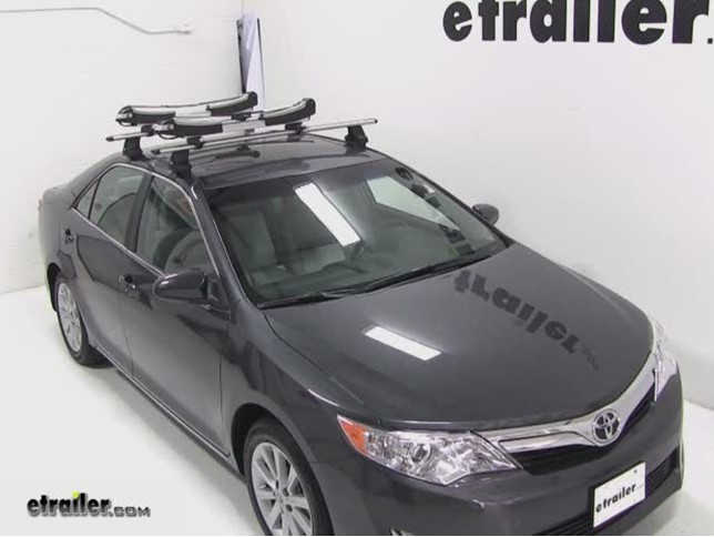Thule Sup Taxi Stand Up Paddleboard Carrier Review 2017 Toyota Camry Etrailer Com