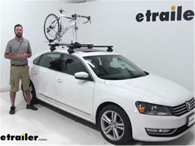 Thule Roof Bike Racks Review 2015 Volkswagen Passat Video Etrailer Com