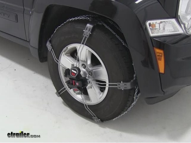 ... 2012 Jeep Liberty, Well Be Test Fitting The Thule Case Summit XXL Tire  Chains Part Number TH02230K66. Our Jeep Liberty Is Equipped With 225.7516  Tires.