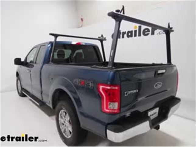 Thule Tracrac Tracone Truck Bed Ladder Rack Installation 2016 Ford F 150 Video Etrailer