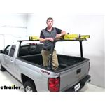 Thule TracRac TracONE Truck Bed Ladder Rack Installation - 2019 Chevrolet Silverado 1500