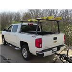 Thule TracRac TracONE Truck Bed Ladder Rack Installation - 2017 Chevrolet Silverado 1500