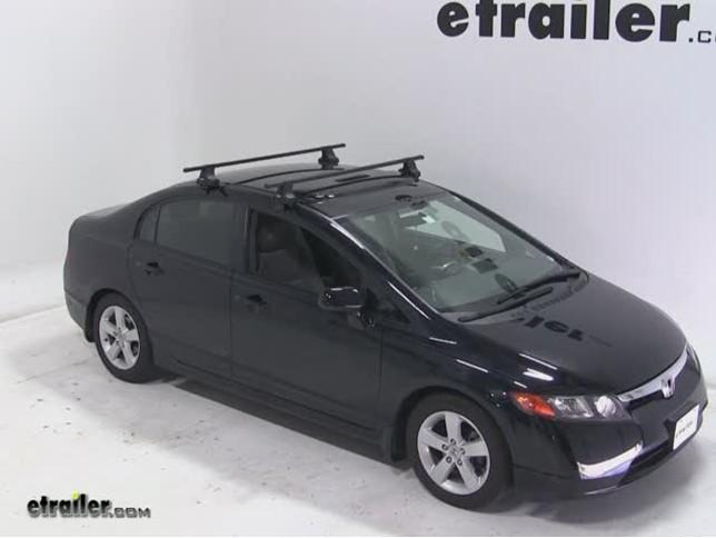High Quality Thule Traverse Roof Rack Installation   2007 Honda Civic Video |  Etrailer.com