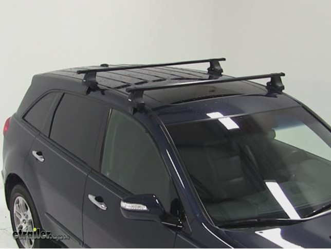 thule traverse roof rack installation 2009 acura mdx video rh etrailer com Acura MDX Roof Rails Acura MDX Trunk