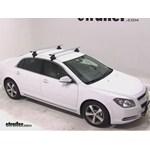 Thule AeroBlade Traverse Roof Rack Installation - 2011 Chevrolet Malibu