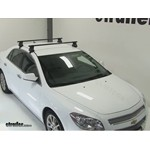 Thule Traverse Roof Rack Installation - 2011 Chevrolet Malibu