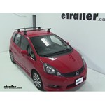 Thule Traverse Roof Rack Installation - 2012 Honda Fit