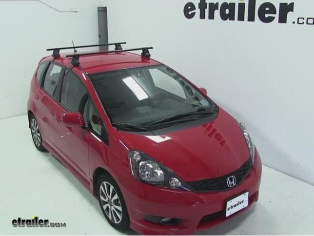 Thule Traverse Roof Rack Installation   2012 Honda Fit