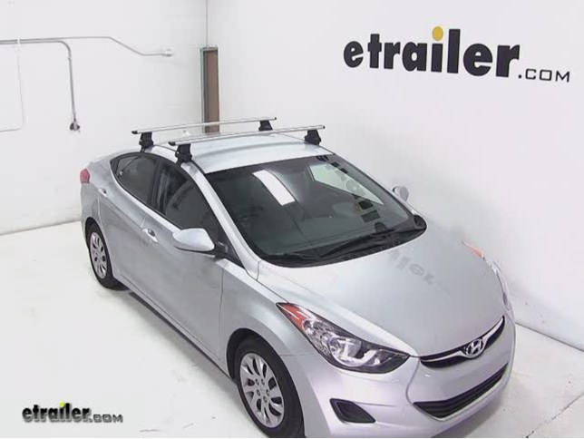 Thule Roof Rack For Hyundai Elantra 2004 Etrailer Com