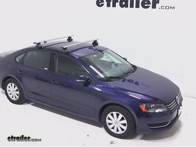 volkswagen passat thule rapid traverse roof rack foot pack