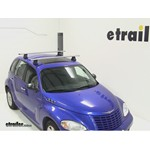 Thule AeroBlade Traverse Roof Rack Installation - 2004 Chrysler PT Cruiser