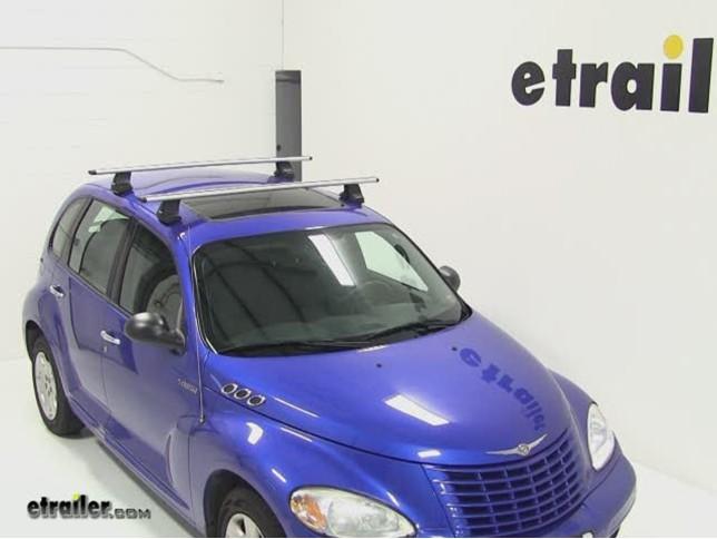Attractive Thule AeroBlade Traverse Roof Rack Installation   2004 Chrysler PT Cruiser  Video | Etrailer.com