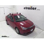Thule AeroBlade Traverse Roof Rack Installation - 2010 Ford Focus
