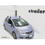 Thule AeroBlade Traverse Roof Rack Installation - 2010 Honda Fit