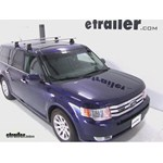 Thule AeroBlade Traverse Roof Rack Installation - 2011 Ford Flex