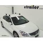 Thule AeroBlade Traverse Roof Rack Installation - 2011 Nissan Altima