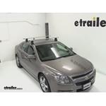 Thule AeroBlade Traverse Roof Rack Installation - 2012 Chevrolet Malibu