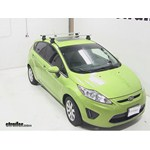 Thule AeroBlade Traverse Roof Rack Installation - 2012 Ford Fiesta