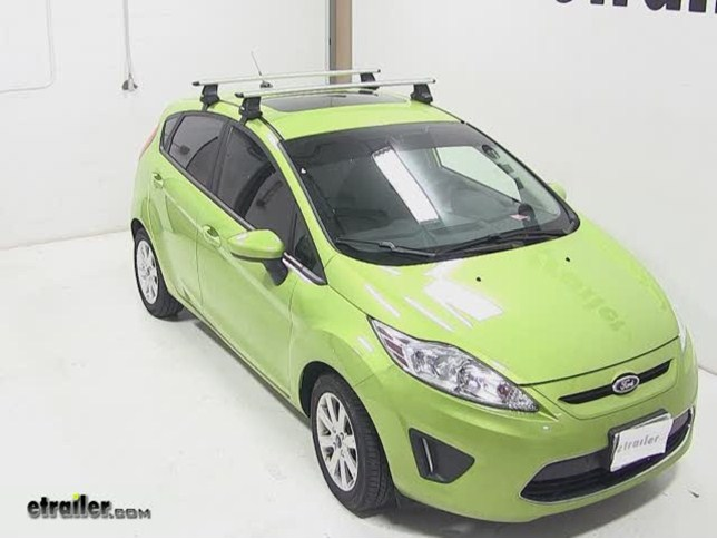 Ford Fiesta Roof Rack >> Thule Aeroblade Traverse Roof Rack Installation 2012 Ford Fiesta