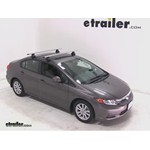 Thule AeroBlade Traverse Roof Rack Installation - 2012 Honda Civic