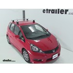 Thule AeroBlade Traverse Roof Rack Installation - 2012 Honda Fit