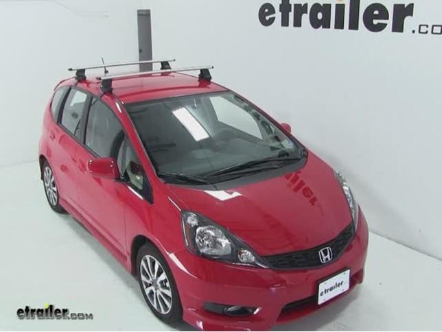 Honda Fit Roof Rack >> Thule Aeroblade Traverse Roof Rack Installation 2012 Honda Fit