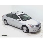 Thule AeroBlade Traverse Roof Rack Installation - 2012 Nissan Altima
